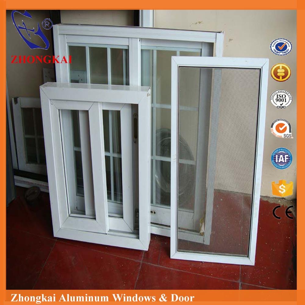 Cocina estándar tamaño de la ventana de aluminio ventana deslizante ...