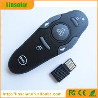 2.4GHz Wireless USB Power Point PPT Powerpoint wireless presentation laser pointer