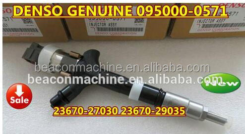 TOYOTA Avensis 23670-27030, 23670-29035 denso common rail injector 095000-0570, 095000-0571, 095000-0420