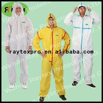 CAT III Type5/6 Certified Disposable Protective Coverall