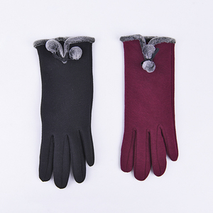 Fashional wholesale fashion lady winter hand gloves