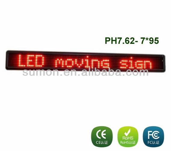 Led Scrolling Message Mini Display/desk Screen Led Display/small Led Display Screen