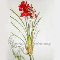 Cymbidium orchid artificial flower wholesale