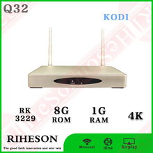 Multifunction RK3229 1g/8g 4k support 3d android 5.1 tv box skype