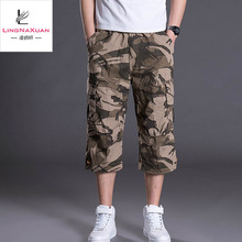 2019 mode herren Camouflage Casual outdoor cropped Hosen
