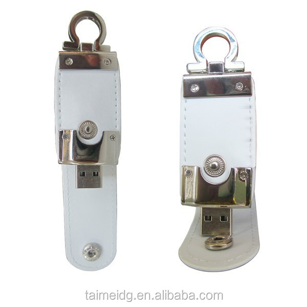 Alibaba suppliers leather case usb flash drive