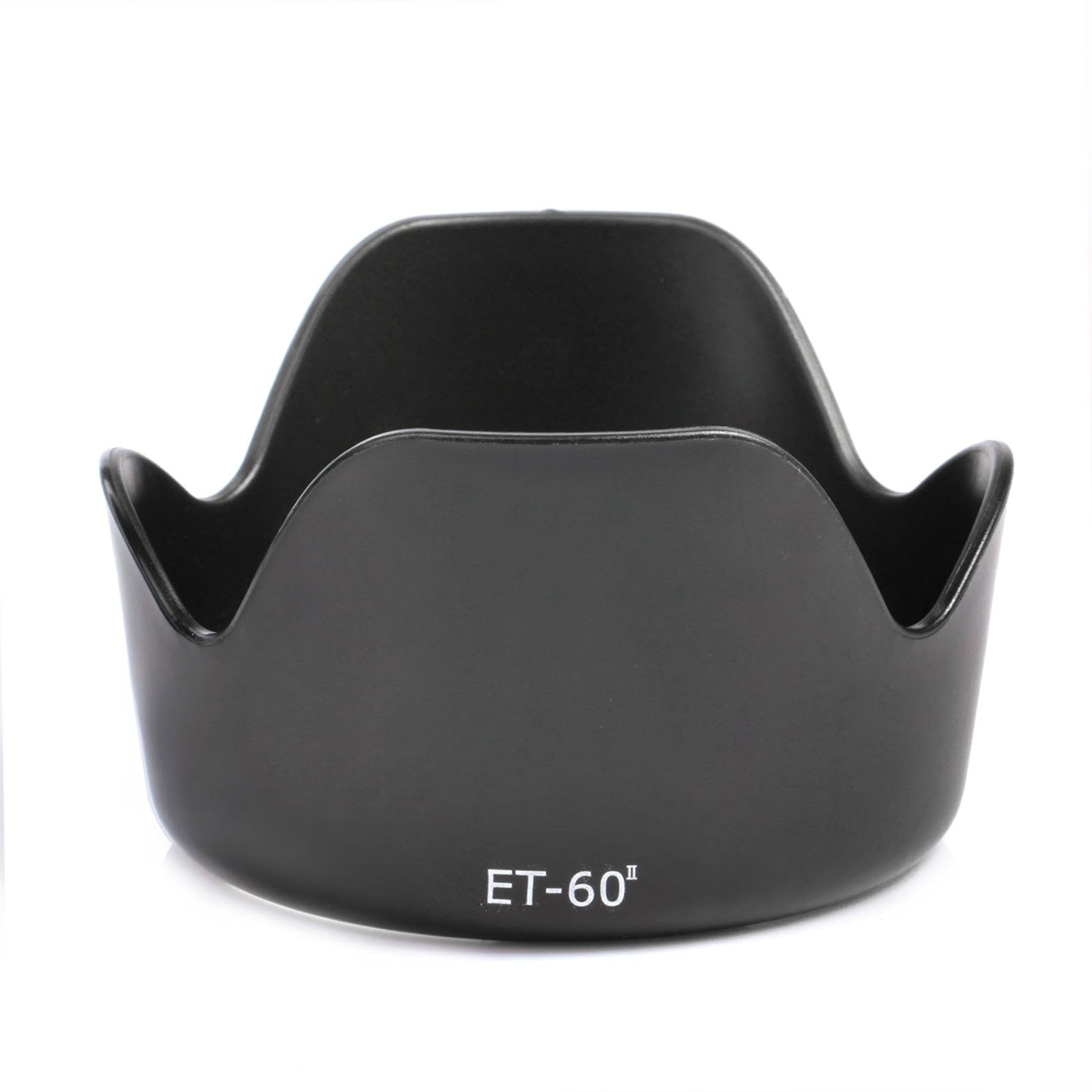 K&F Concept Replacement For ET-60 II Lens Hood For Canon EF 75-300mm f/4.0-5.6 USM II II USM III III USM Lenses For Canon EF-S 55-250mm F/4-5.6 IS Lens
