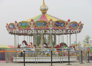 2016 wonderful experience top quality outdoor and indoor 3-24 seats carousel for sale