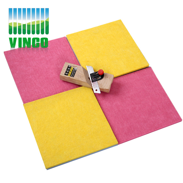 diy sound panel decorative polyester fiber acoustic panel