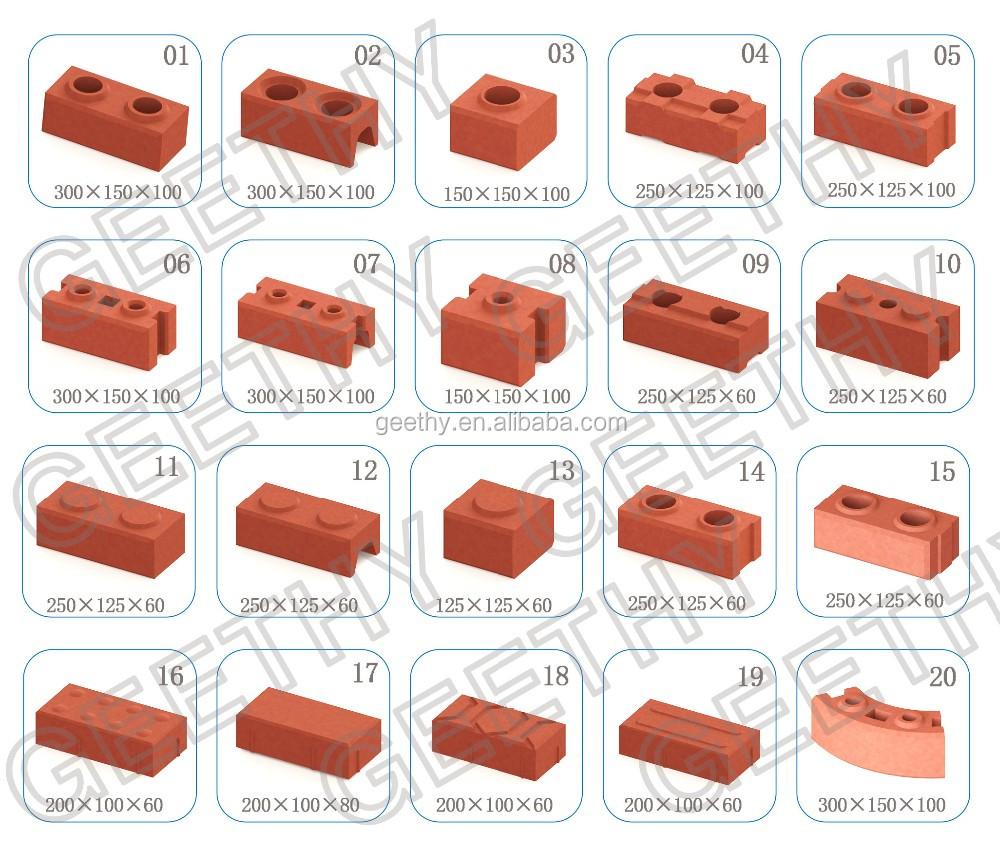 Machine For Make Bricks Paving Stone Making Machine Eco