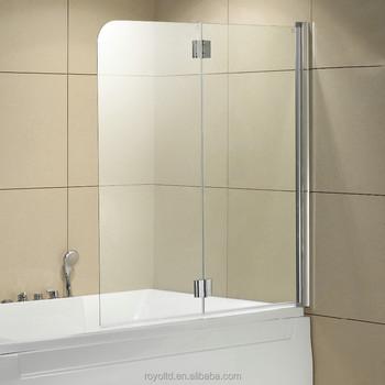 Gebogenem Glas Scharnier Tür Duschwand Für Dusche Badewanne - Buy Gebogenem  Glas,Scharnier Tür Duschwand,Tragbare Duschwand Product on Alibaba.com