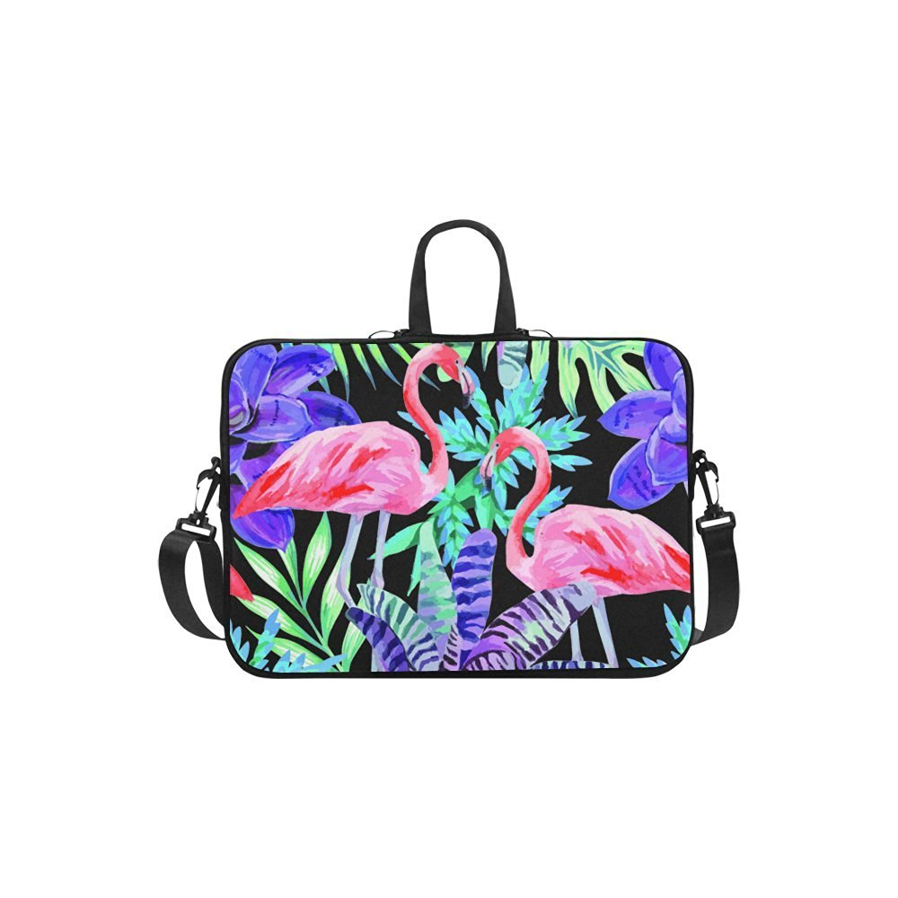 "InterestPrint Classic Personalized Animal Flamingo Watercolor Painting Plants 13""- 13.3""/Macbook Pro Air 13 Inch Laptop Sleeve Case Bags Skin Cover for Lenovo, GW, Acer, Asus, Dell, Hp, Sony, Toshiba"