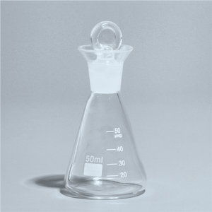 50ml-1000ml Conical Iodine Flask with ground-in glass stopper Boro 3.3 Glass