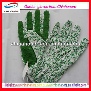 Women Printed Garden Gloves Wholesale Buy Leather