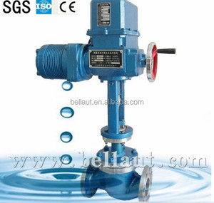 fisher control valve, regulator valve with electric actuator