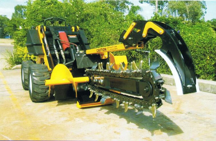 New Farm Cultivator Mini Excavator Loader Digging Trencher