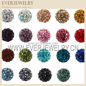 Bling crystal Rhinestone ball beads for jewelry