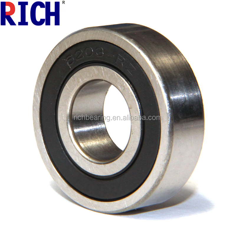 Deep Groove Ball Bearing 6203 ZZ 2RS Chrome Steel
