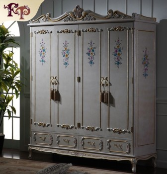 Royal Furniture French Style Antique Classic Furniture Wardrobe