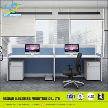 fancy design 4 person workstation furniture mdoern 120 degree office rh alibaba com Workstation 4 Seater Workstation 4 Seater