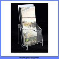 New hot selling new fancy brochure holder acrylic