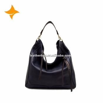 c54328223a07 Guangzhou Bags Market Hot Seller Women Black Leather Hobo - Buy ...