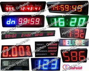 Godrelish solar led sports timer clock with great price
