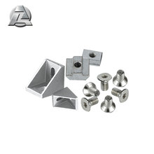 Hot selling 4040 aluminum t slot extrusion profiles accessories