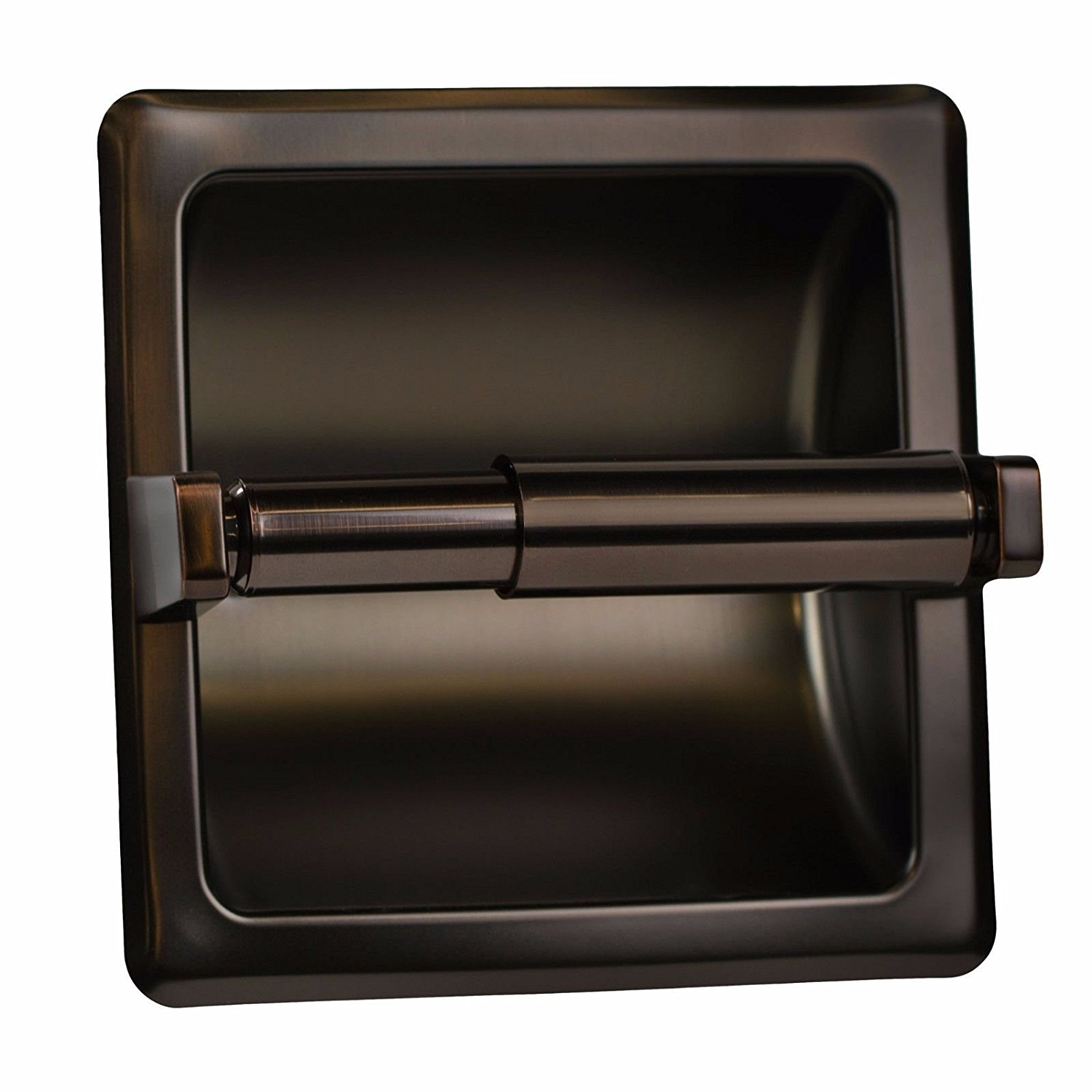 Get Quotations Oil Rubbed Bronze Recessed Toilet Paper Holder