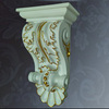 Construction Material PU Decorative Corbel interior decorative home decorative PU cornice moulding corbels European style