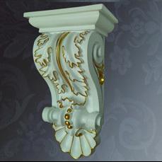 Construction material pu decorative corbel interior decorative home decorative pu cornice for Decorative corbels interior design