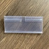 Supermarket T hook plastic price label holder Strip