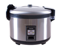 Stainless steel deluxe type commercial rice cooker in 5.5l/6l/10l