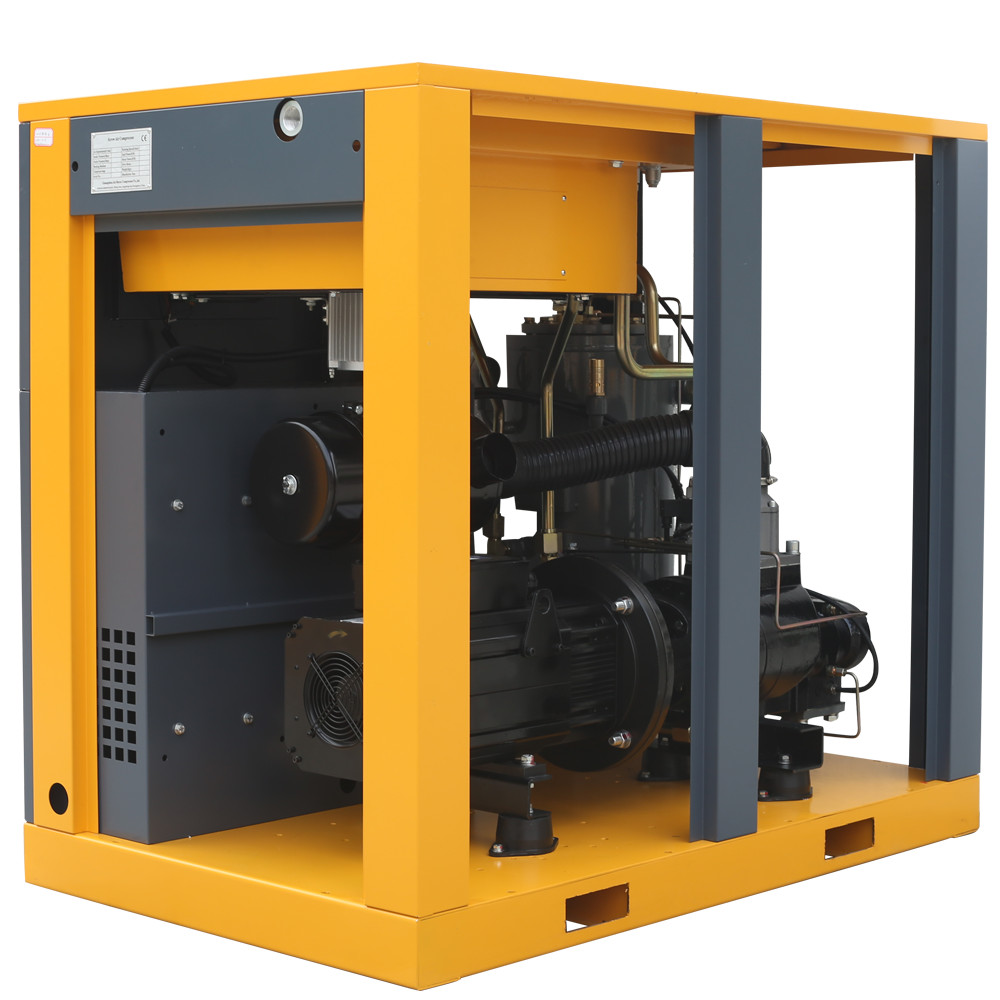 100 Psi 250 Cfm Slient Combined Screw Air Compressor For