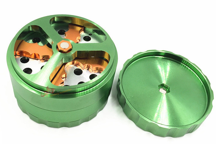 T080GA LVHE China Wholesale Tobacco Grinder Machine Dry Herb Wholesale Weed Grinder