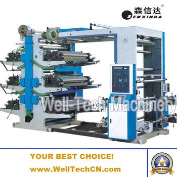 6 colour flexo printing machine