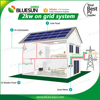2 kw solar panel home system on gridand off grid 3kw 4kw 5kw 10kw