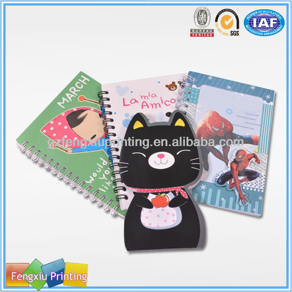 Children's Four Lined Paper Line Mini Cheap Notebook