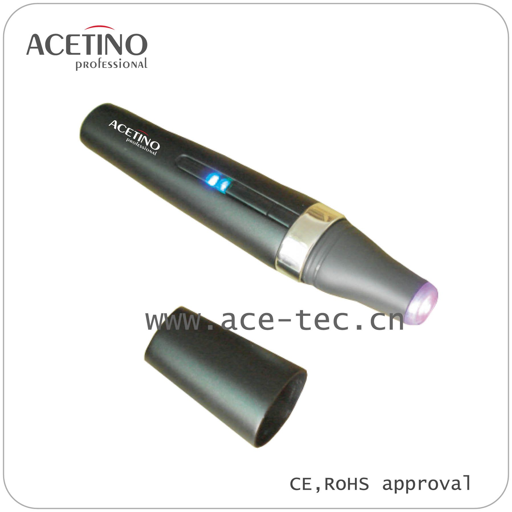 Deep Clean Battery Operated blue laser home acne dark spot removal Multi-Functional