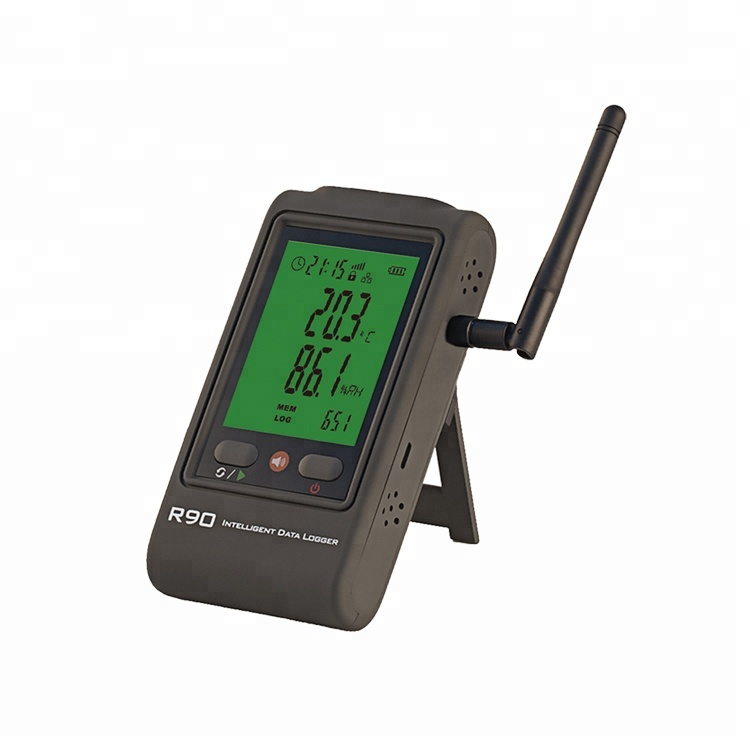 Wireless temperature humidity sensor with GSM GPRS or WIFI or 4G