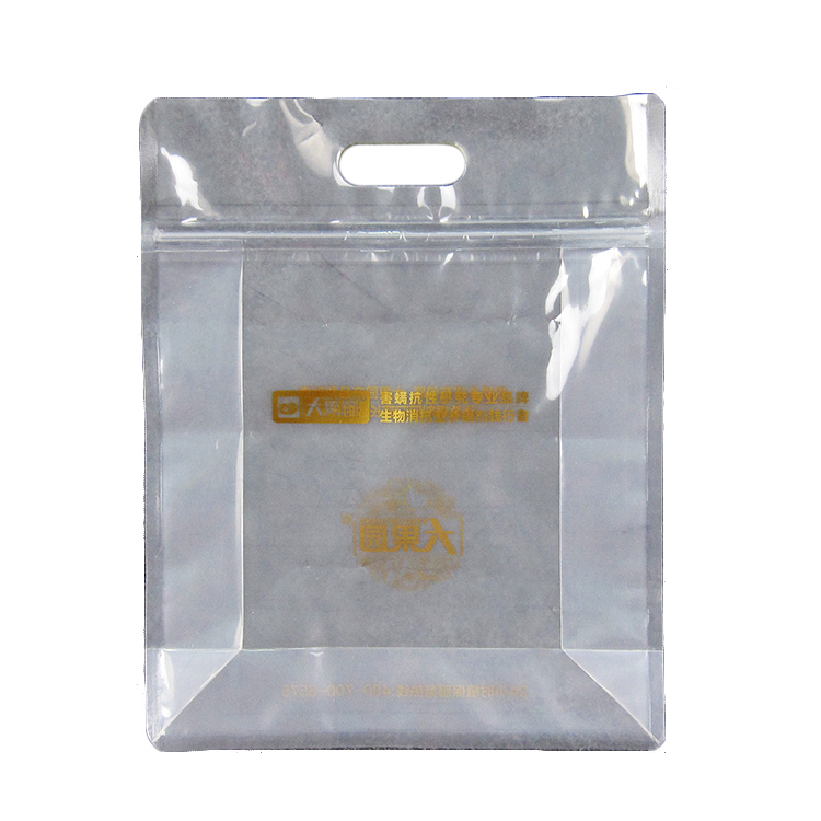 Clear packaging reclosable poly zip lock bag/ziplock food bag