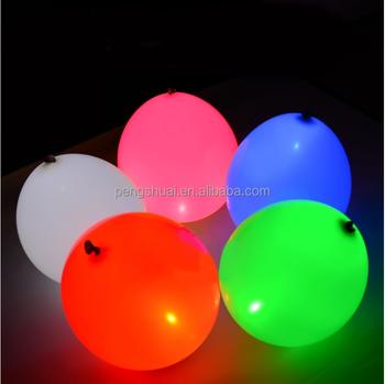 Flying Helium Led Balloon With Light Inside Wholesale