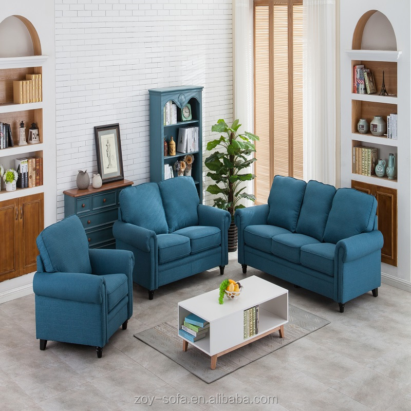Wooden frame living room stationary furniture sofa comfortable sofa ZOY-S9953A