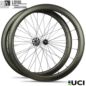 700c full carbon fiber bicycle 50mm dimple tubular rim 20-24 holes carbon bike wheel