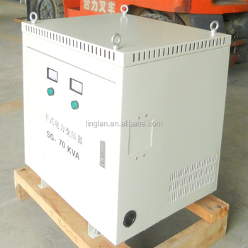 380 three phase step down transformer
