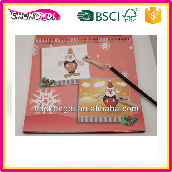 super style hot sale beauty Fun Exercise Book coloring and sticker book