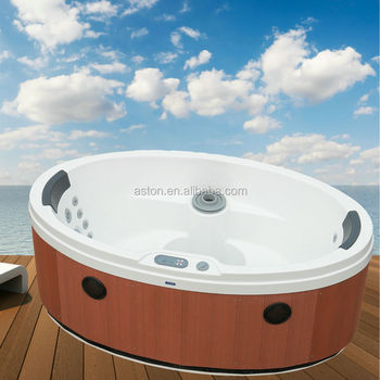 Mini Oval Outdoor Whirlpool Massage Spa Hot Tub Pool