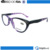 Fancy fashion women cheap round shape frame lens plastic wholesale vintage reading glasses frame with rhinestone
