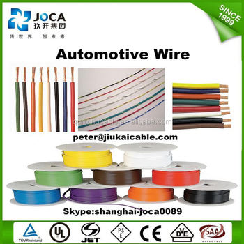Avss 2mm Pure Copper Automotive Wiring Colour Codes - Buy Automotive ...