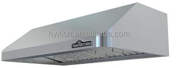 """hyxion - thor kitchen 48"""" under cabinet range hood lowes hrh4801u"""